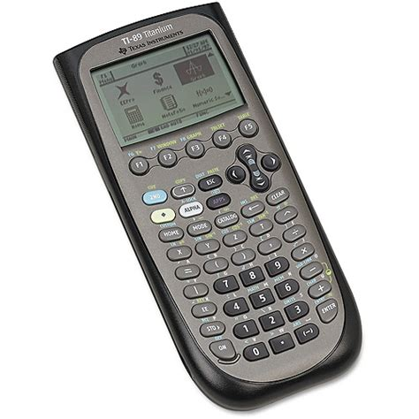 calculator calculus texas instruments ti 89 graphing calculator titanium