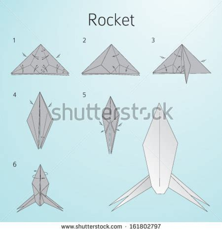 origami rocket stock images similar to id 104829926 swan origami