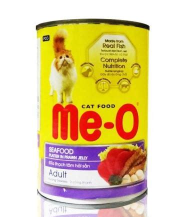 Meo Seafood Repack 1kg me o can seafood 400g pet