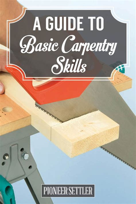 what basic skills do i need to build my own house quora homesteader s guide to basic carpentry skills homesteading