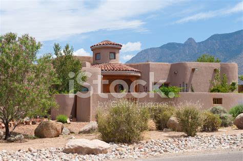 southwest adobe homes modern southwest adobe house stock photos freeimages
