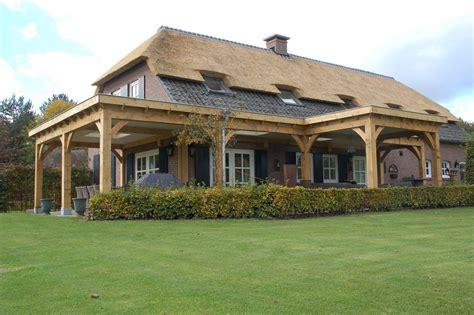 veranda zwart hout meel timmerwerken bouwt uw eikenhouten veranda op maat