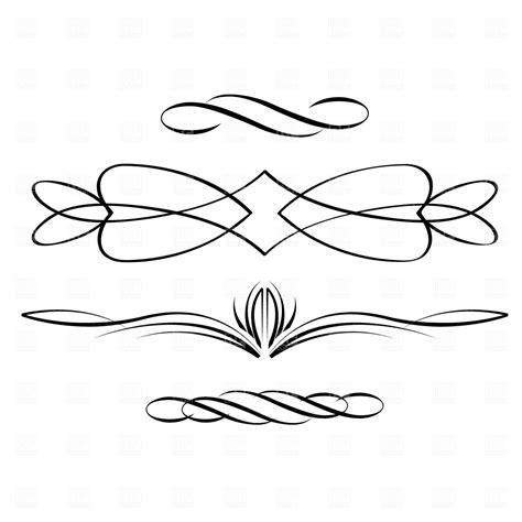 Vintage Calligraphy Clip