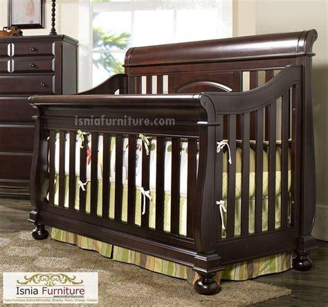Ranjang Kayu Bayi ranjang bayi kayu jati gloss 187 indonesia furniture teak furniture
