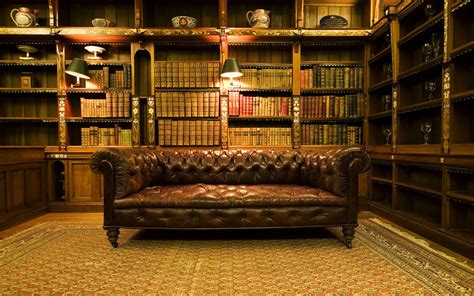 Vintage Lawyers Bookcase 1920x1200 Old Office Desktop Pc And Mac Wallpaper