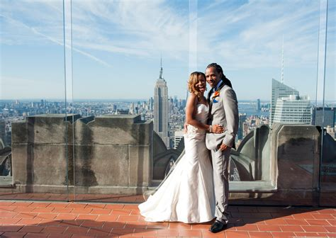 Wedding Of The by Top Of The Rock Elopement Nyc Elopement Photographer
