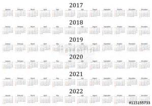 3 Year Calendar 2018 To 2020 Quot Six Year Calendar 2017 2018 2019 2020 2021 And 2022