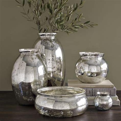 Small Mercury Glass Vases by Mercury Glass Vases West Elm