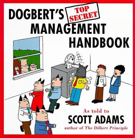 manager s handbook the books book review dogbert s top secret management handbook by
