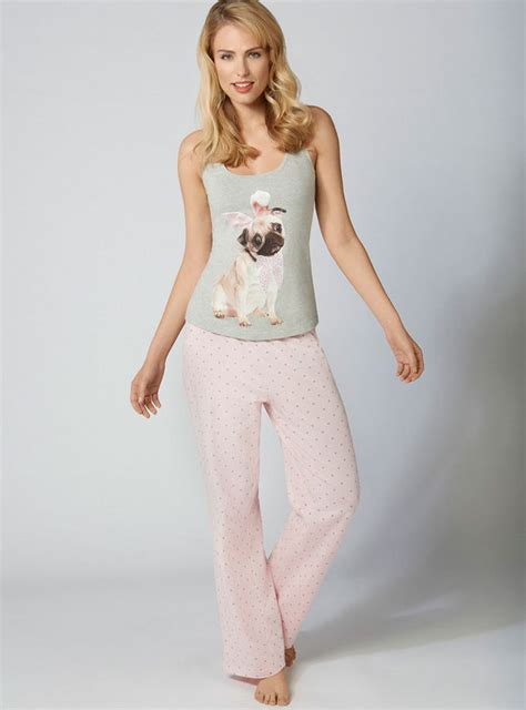 pug vest ned pug vest and pyjama set boux avenue