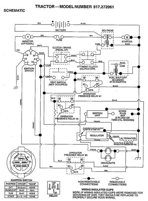 craftsman mower wiring diagram 917 255692 craftsman lawn