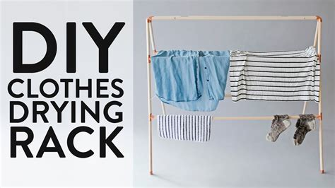 Diy Hair Dryer Hanger make this diy clothes drying rack