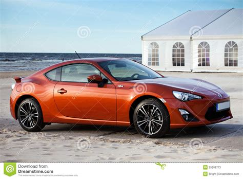 New Toyota Sports Car Editorial Stock Photo Image 25609773