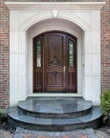 Front Exterior Doors For Homes Wooden Door Design Home Designer
