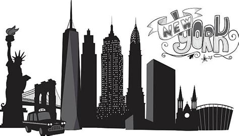 new york clip towers clipart new york pencil and in color towers