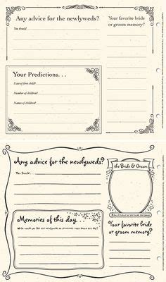 1000+ images about dyi printable wedding guest book