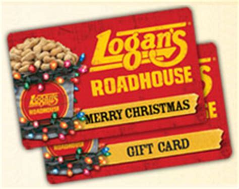 Logan S Gift Cards - logan s roadhouse gift card bonus deal spend 25 get 5 logan bucks bargain