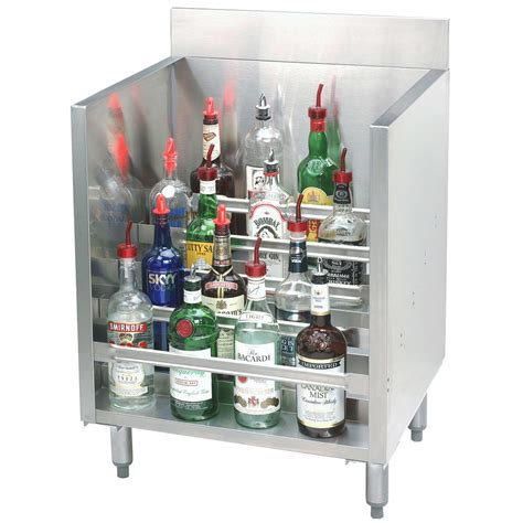 Advance Tabco Crlr 12 Stainless Steel Liquor Display