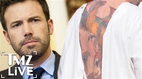 ben affleck tattoos mix 96 7 ben affleck reveals back zayn