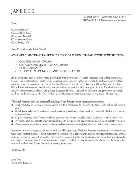procurement cover letter procurement manager cover letter sle and resume