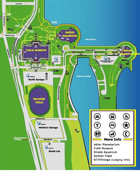 Parking Garage Soldier Field by Parking Information Soldierfield Net