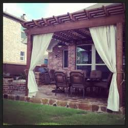 Outdoor Gazebo With Curtains Decorations Outdoor Curtains Wayfair Along With Nassau Indoor Outdoor Single Outdoor Patio