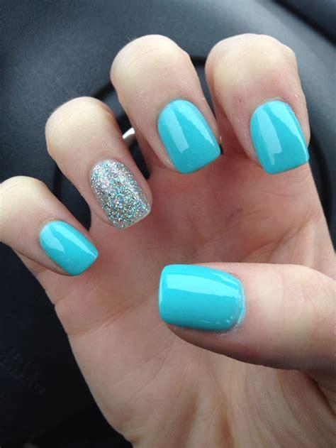 blue light for nails light blue acrylic nails short acrylic nails glam