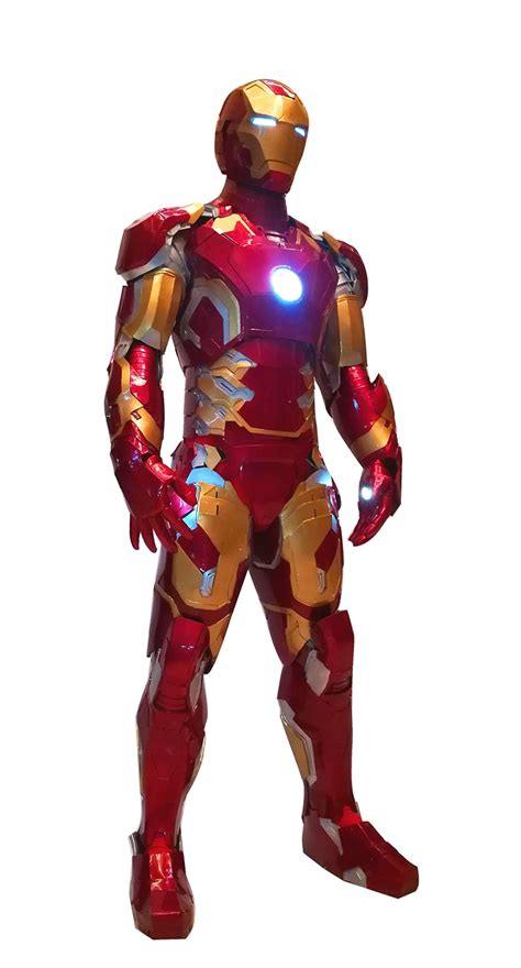 custom buy iron man mk cosplay suit joetoys