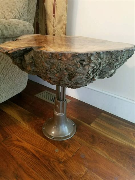live edge table with glass and poplar burl timber salvabrani live edge cherry burl end coffee table outsiders carpentry