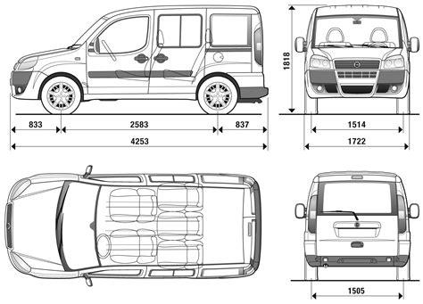 blueprint pdf car blueprints fiat doblo blueprints vector drawings
