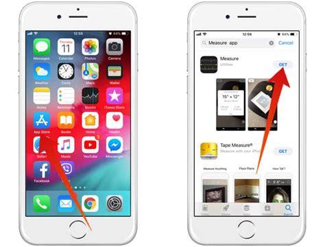 ios  measure app missing  iphone heres  fix
