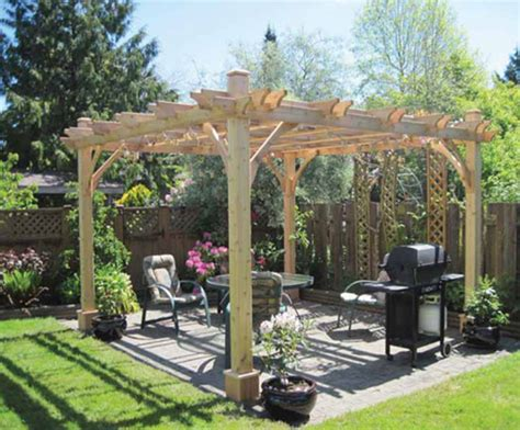 inexpensive pergola kits inexpensive small backyard landscaping ideas big island