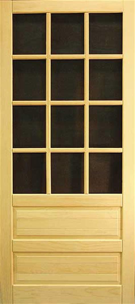 coppa woodworking wood screen doors and wood doors