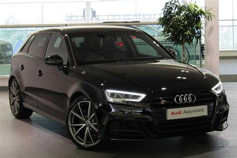 Audi A3 Sportback Special Editions by Used 2017 Audi A3 Special Editions S3 Tfsi Quattro Black