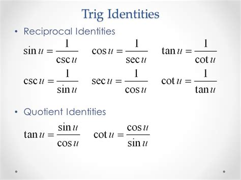 section 5 2 verifying trigonometric identities answers verifying trig identities toreto co