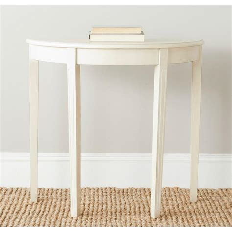 home depot console safavieh jethro barley console table amh6622d the home depot
