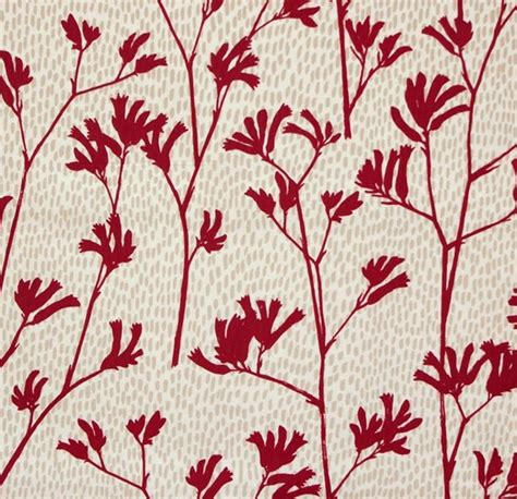 Floral Upholstery Fabric Australia by Kangaroo Paw In Fabric By Australian Designer Lara Cameron Textile Pattern Design