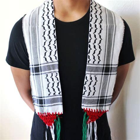 new palestine neck scarf shemagh keffiyeh palestine
