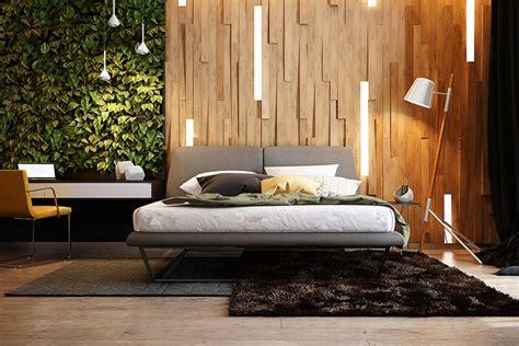 wooden wall designs  striking bedrooms