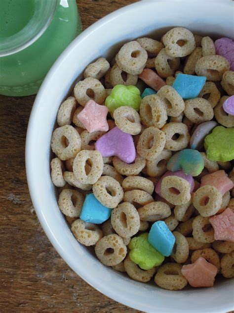 gluten free vegan lucky charms fork and beans
