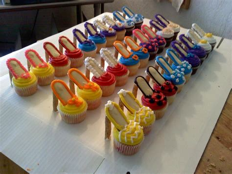 take a walk in s high heel cupcakes all things