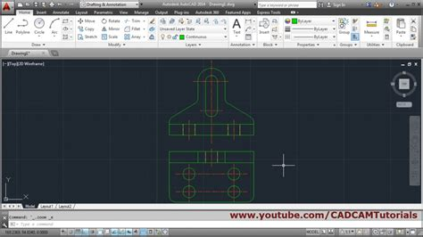 Autocad Tutorial For Mechanical Engineering | autocad tutorial for mechanical engineering youtube
