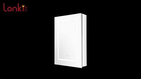 light wall mounted medicine cabinet 2018 top selling wall mounted mirrored bathroom led light