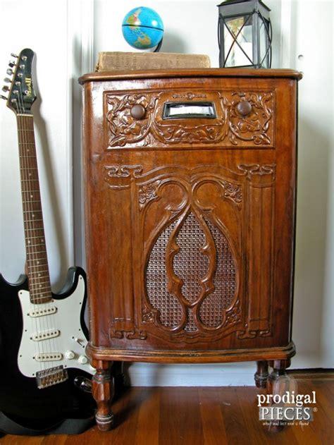 Repurposed Radio Cabinet Turned Dollhouse Prodigal Pieces The Cabinet Radio