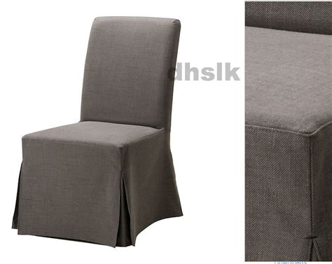 Grey Slipcover Chair ikea henriksdal chair slipcover cover skirted svanby gray grey 21 quot w 54cm last ones
