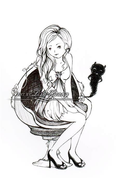 doodle seven deadly sins 7 deadly sins 01 lust by rabbitdoodles on deviantart