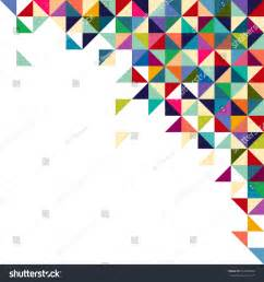 Cmyk Spectrum Puzzle abstract geometric background triangle square colorful