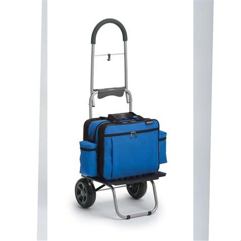 folding dolly bag cart  security strap hopkins