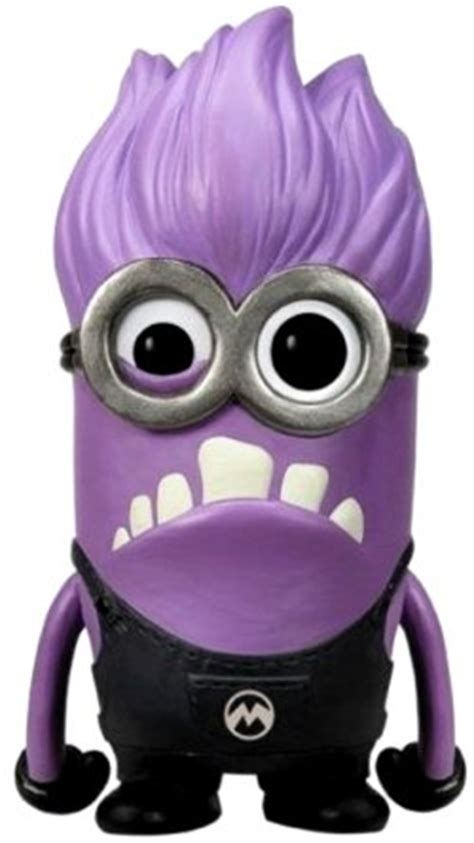 Minion Desk Accessories Funko Pop S Evil Purple Minion He Makes A Great Desk Accessory And A Model For The The