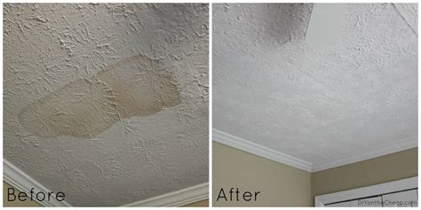 Water Stain Ceiling by Nursery Makeover The Walls Are Painted Erin Spain